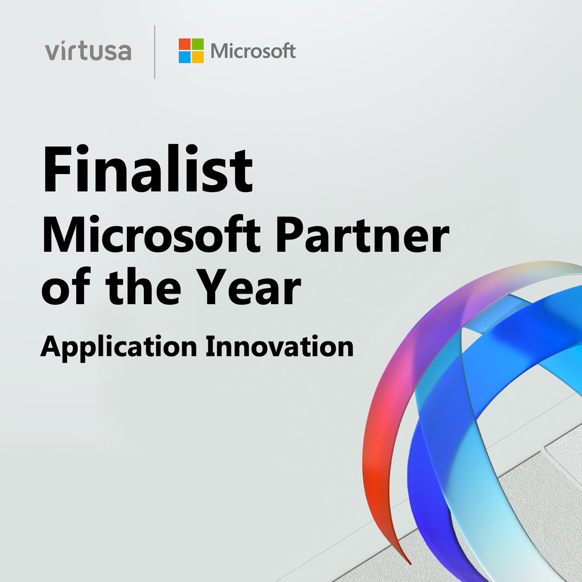 Virtusa Named a Finalist in the Application Innovation 2020 Microsoft Partner of the Year Award
