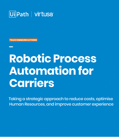 Robotic Process Automation for Carriers